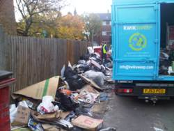 fly tipped waste removal