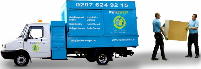 Same day rubbish removal service London